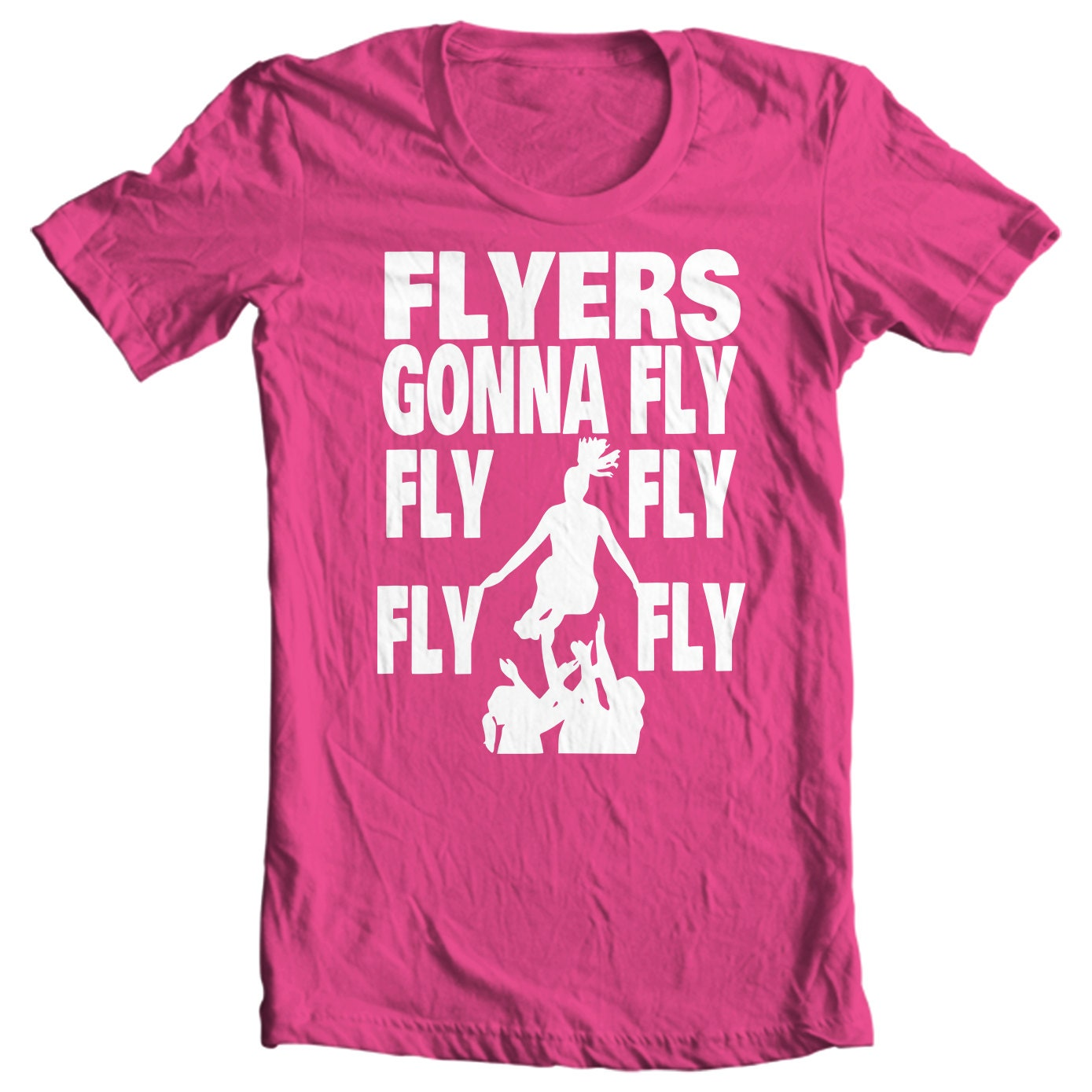 Cheer Life - Flyers Gonna Fly Girls T-Shirt