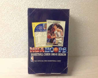 1990-91 Hoops Factory Wax Box Series 1