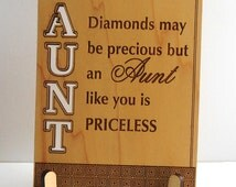 Aunt Valentine Gift, Aunt Mothers Day Greetings, Aunt Appreciation Gift, Special Aunt Gift, Aunt Postcard with Stand,Thank you Aunt.