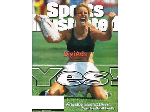Chastain Sports Illustrated Sports Illustrated Cover Brandi Chastain Sports Illustrated