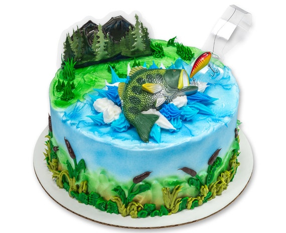 Bass Cake Topper
