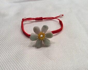 Jadeite jade adjustable bracelet