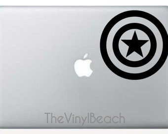 Captain America Shield Decal - The Avengers Decal