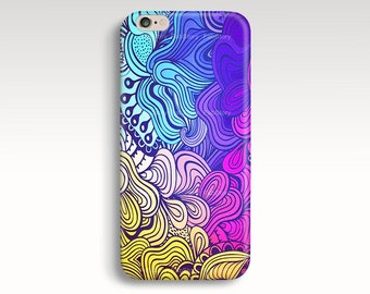 Colorful iPhone 6 Case, iPhone 5s Case, Watercolor iPhone 6 Plus Case, Abstract iPhone Case, iPhone 5 Case, iPhone 4s Case, iPhone 6 Cases