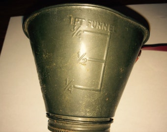 Antique Jar Top Strainer