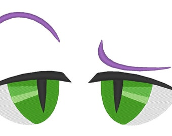 My little Pony Spike EYES 01 - Instant Download