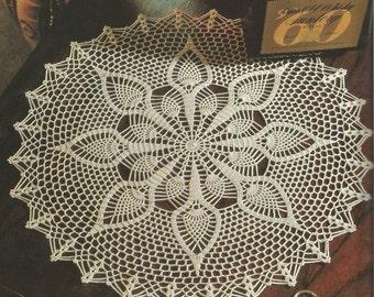 Vintage Round Lacy Doily Centre Piece Crochet PDF Pattern