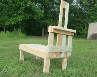 "Goatstand.com Small Pygmy Goat Stand 23"" x 36"" Treated Wood Durable Stanchion"