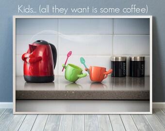 coffee poster, coffee print, coffee art print, coffee photography, dining room prints, kitchen decor,kitchen decor wall,tea poster,tea print