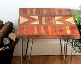 Reclaimed Wood Table, Side Table, End Table
