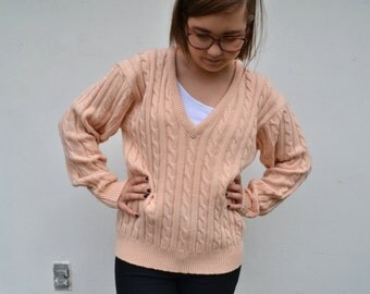 Pinky peach Sweater