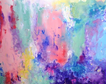 Colourful Pastel Abstract