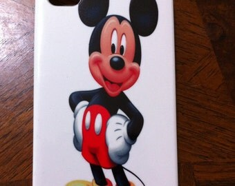 Mickey  Iphone 4 and 5 Plastic Case free shipping