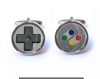 Game Controller Cufflinks - Computer Controller Cufflinks