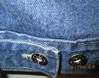 Route 66 classic dark blue denim jacket. Size L-XL