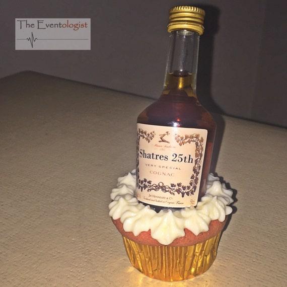 Custom Henny Inspired Mini Liquor Bottle Labels By