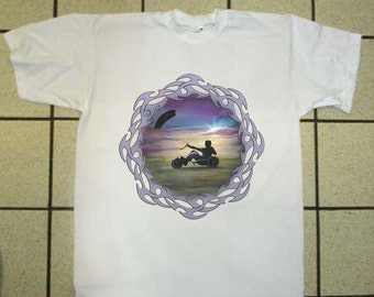 Power Kite Buggy T-shirt Extreme Sports Kite Flyer in all sizes