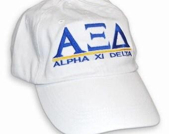 Alpha Xi Delta Line Hat