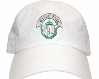 Delta Zeta Crest Hat