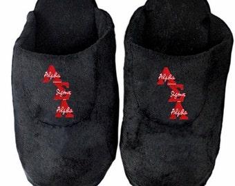 Alpha Sigma Alpha Slippers