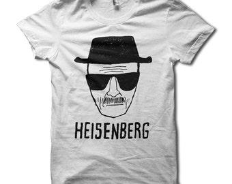 Heisenberg Shirt - Breaking Bad Heisenberg Sketch TShirt - Breaking Bad Shirt - Walter White Breaking Bad T-Shirt - Heisenberg Tee