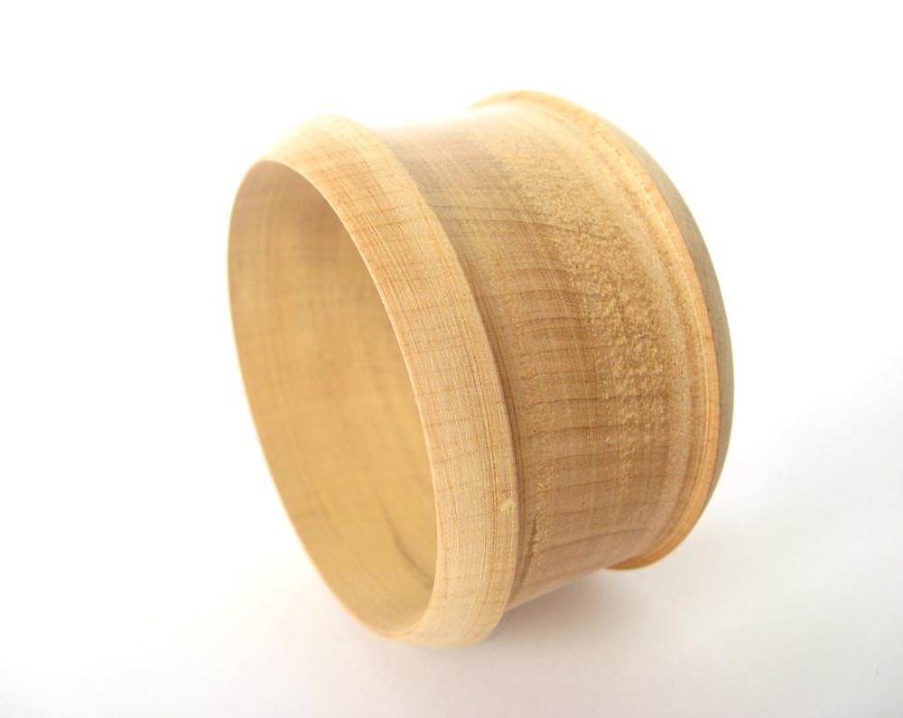 wooden bracelet 45 mm unfinished wood bangle wood bracelet