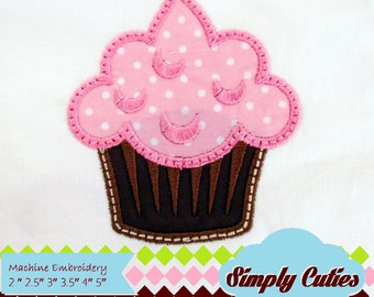 Cupcake MACHINE EMBROIDERY / INSTANT