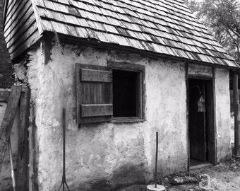 Colonial Building at Wormsloe Historic Site, Savannah, GA