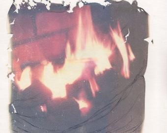 Framed Polaroid Lifting - Untitled