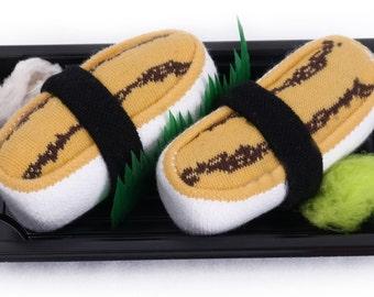 Sushi Socks Box 1 pair Tamago Cool Gift Present Gadget Nice