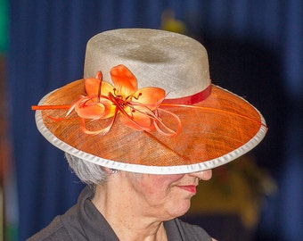 Orchid Dress Hat