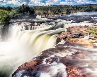 Old Waterfall - Jalapão - Brazil