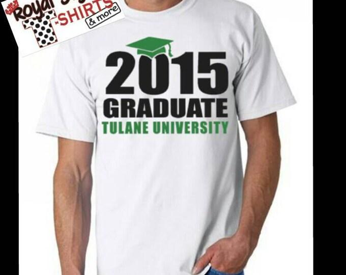 Graduate custom shirt