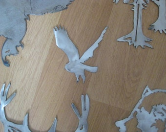 wall art metal cut out