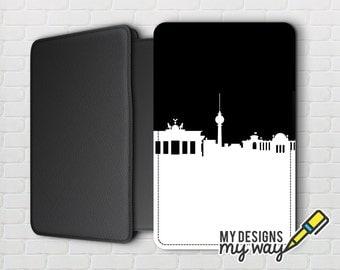 Berlin City Skyline Pictaleather Passport Cover