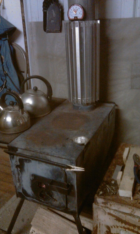 Wood Stove Wrap Heat Exchanger Reclaimer Radiator Stove