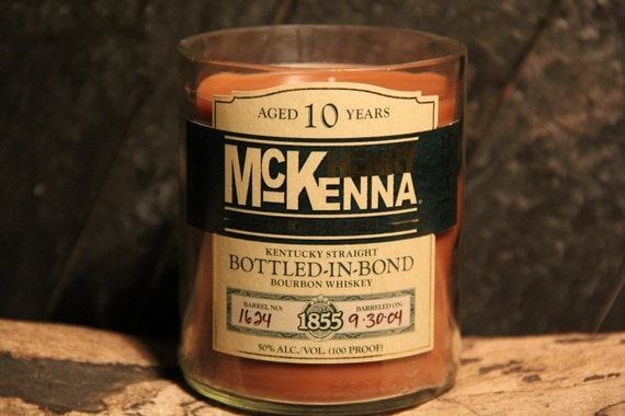 Henry McKenna Whiskey Candle Gift, Gift For Him, Valentines Present For Guy, Gift For Dad, Valentines Day Gift Idea, Gift For Valentines