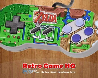 SNES - Legend of Zelda: A Link to the Past - Controller Overlay (Controller Not Included)