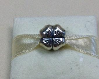 Authentic Pandora Silver Clover Charm #790157