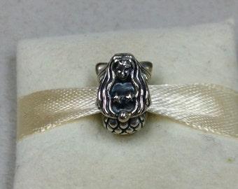 Authentic Pandora Silver Mermaid Charm #791220