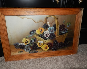 PANSY PRINT by Le Roy