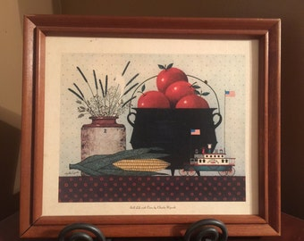 Still Life with Corn by Charles Wysocki