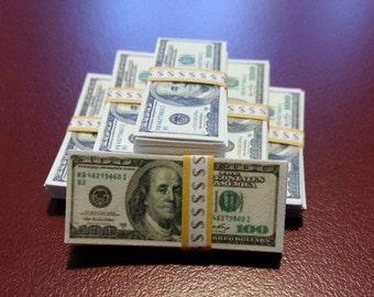 7 stacks of money Hot toys Joker dx11 Robocop 1/6 Sideshow Action figures Accessories