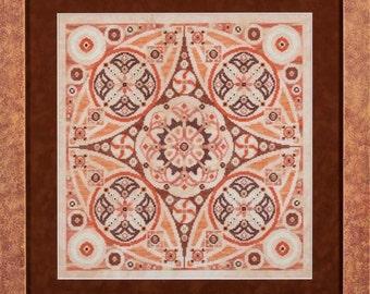 Glendon Place - Pumpkin Swirl Chart
