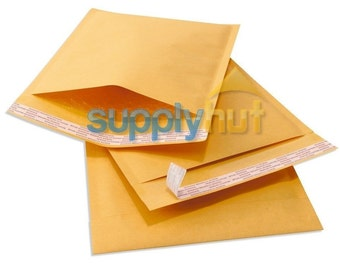 "250 #0 6x10 Kraft Paper Bubble Padded Envelopes Mailers Shipping Case 6""x10"""