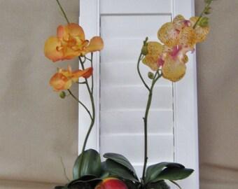 Peach Orchid Floral Arrangement