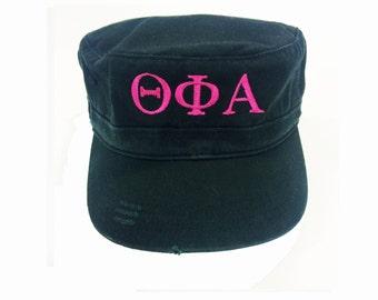 Custom Military Distressed Hat