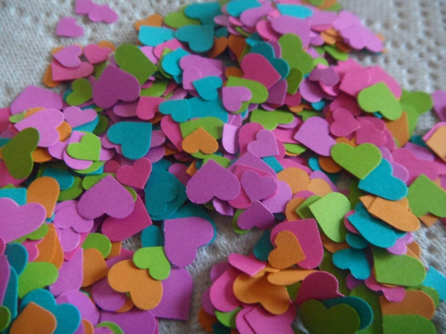 bridal shower confetti baby shower confetti by arielleslittleshop