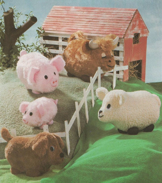 patron couture animaux la ferme
