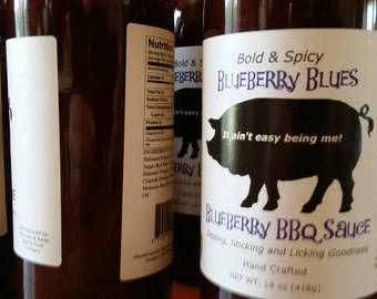 Blueberry Blues BBQ Sauce